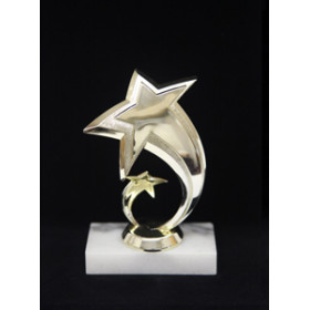 Shooting Star Figure on Marble
